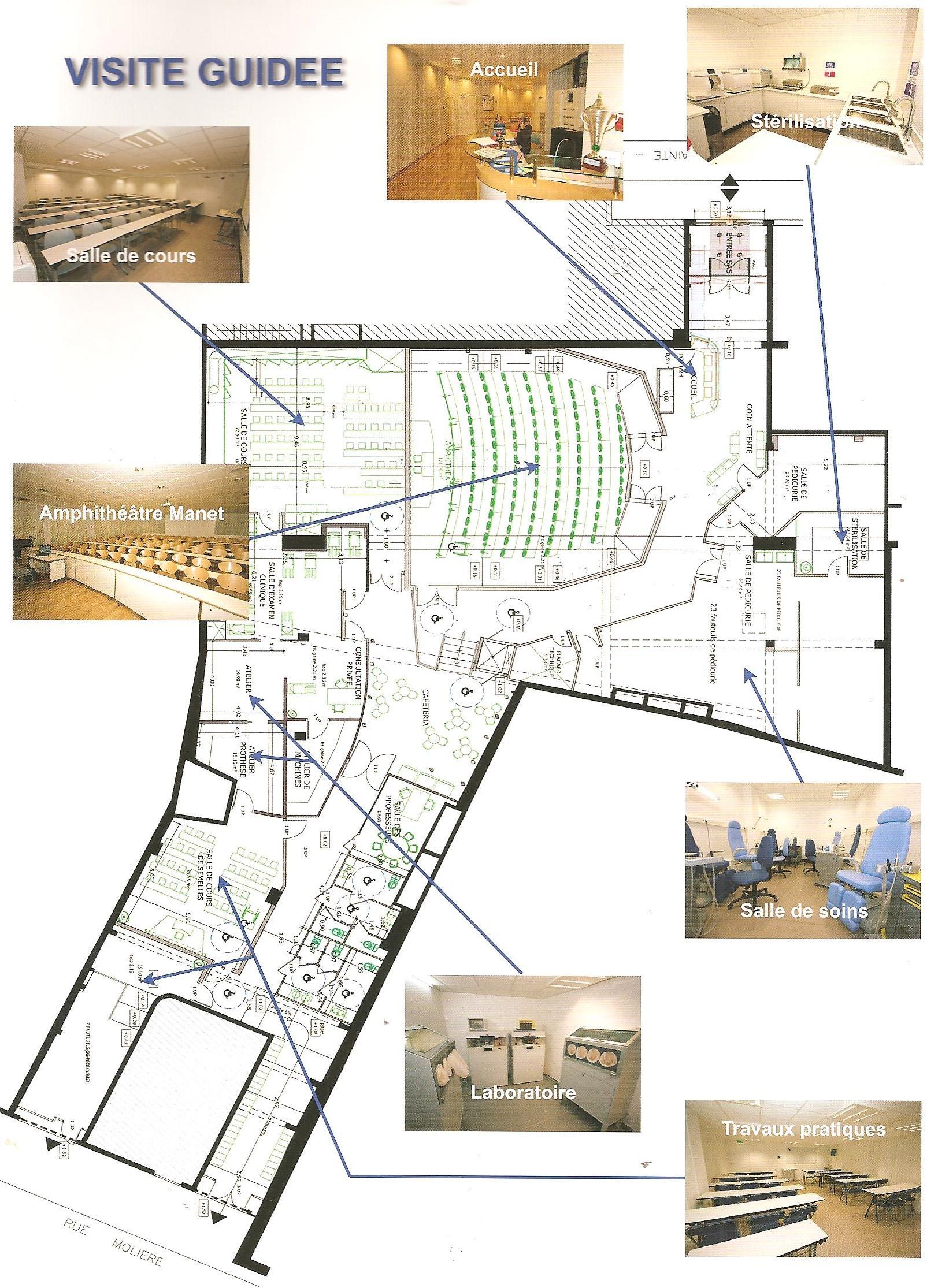 institut national de podologie a c t e s cabinet d 39 architecture. Black Bedroom Furniture Sets. Home Design Ideas