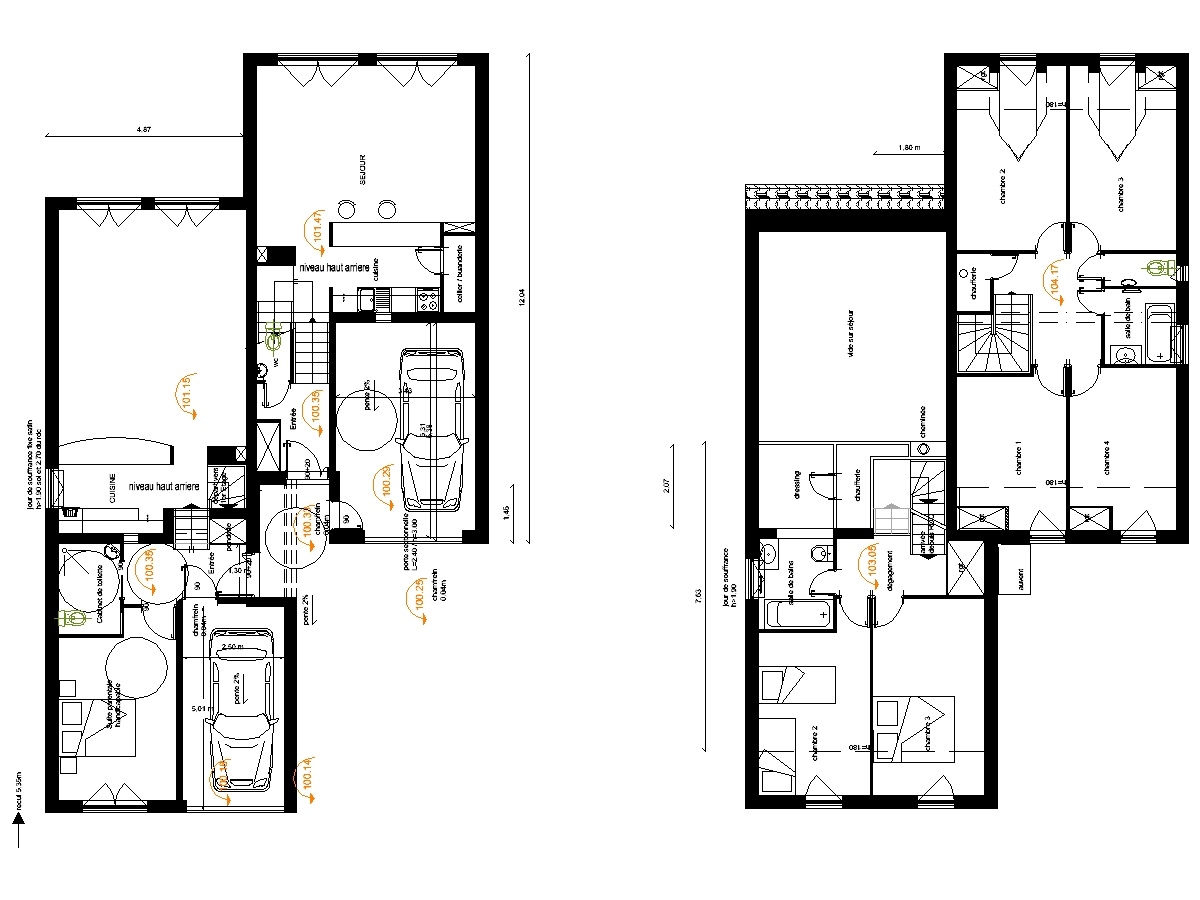 Plan de maison duplex au cameroun faire mieux pour votre for Plan maison duplex