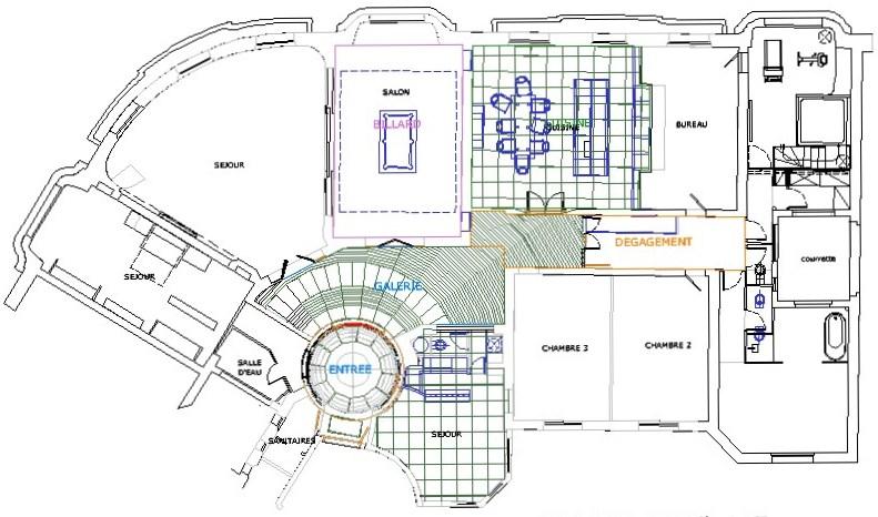boulevard raspail a c t e s cabinet d 39 architecture. Black Bedroom Furniture Sets. Home Design Ideas